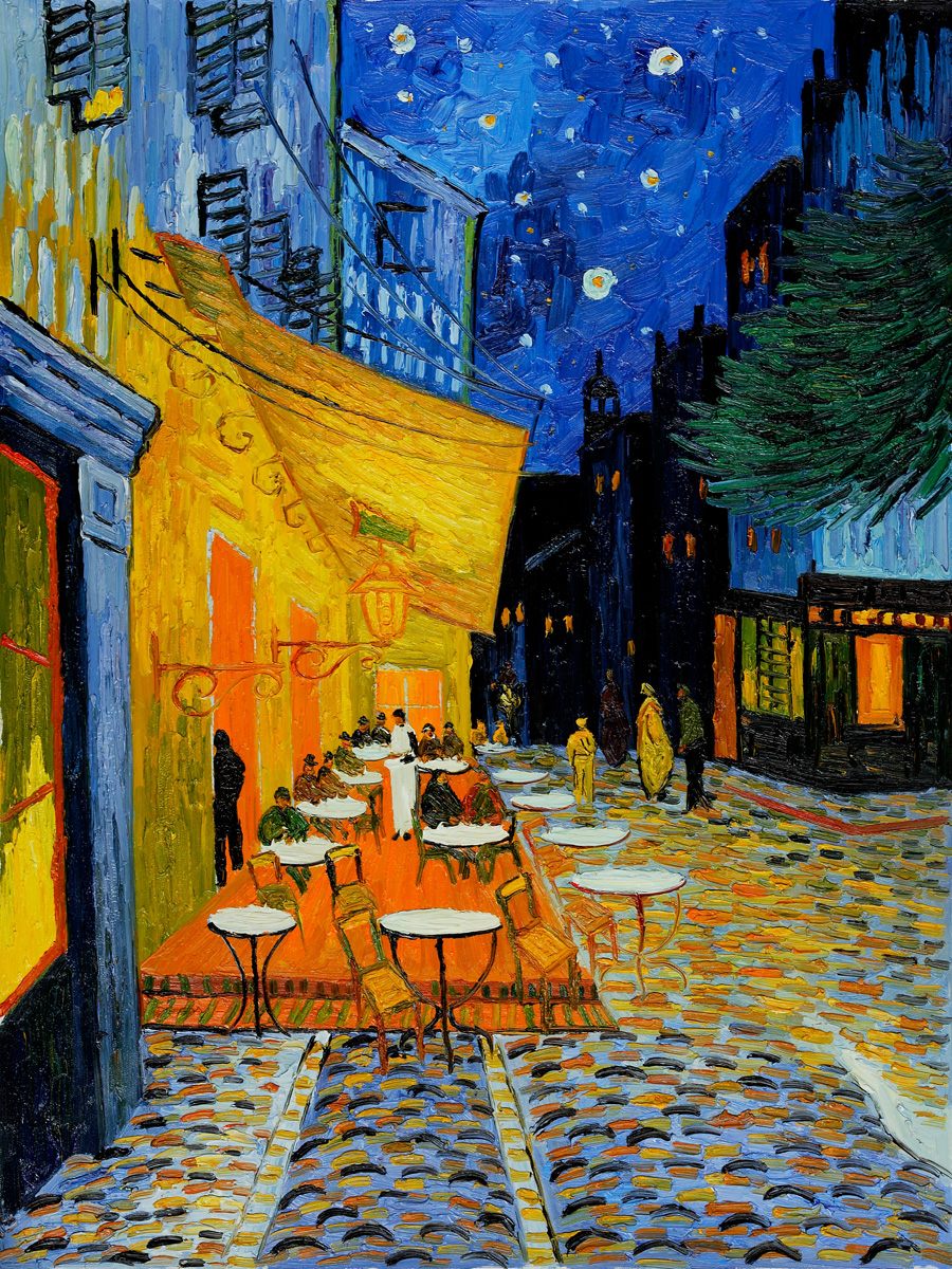 Van Gogh Cafe Terrace at Night Wallpaper Cafe Terrace at Night Van Gogh
